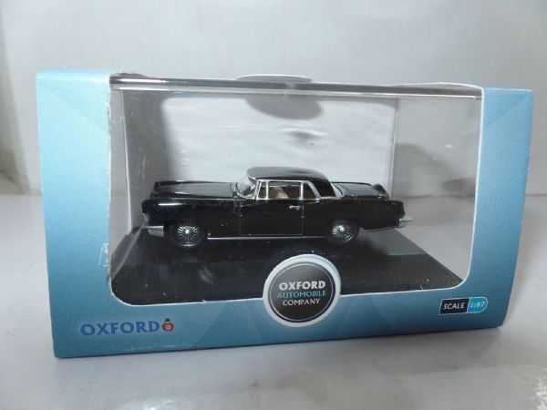 Oxford USA 87LC56001 LC56001 1956 Ford Continental MkII Presidential Black